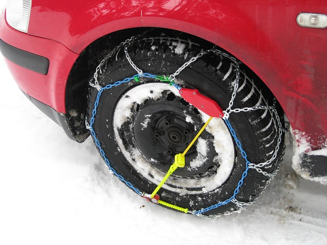 Catene neve da tenere in auto