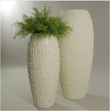 Vasi in plastica per fiori